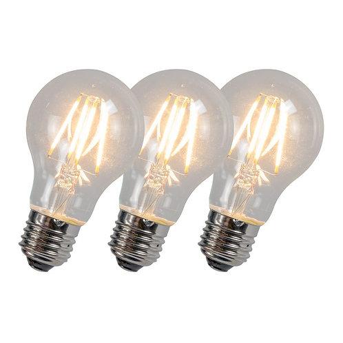 LED lyspære A60 4W 2700K 3 stk