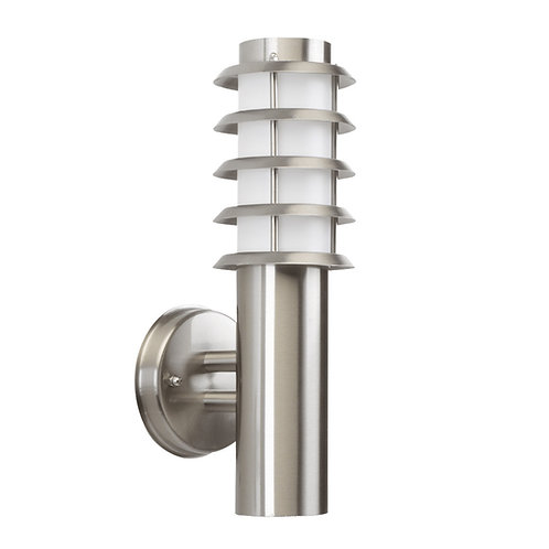 Design vegglampe rustfritt stål - Soll 4