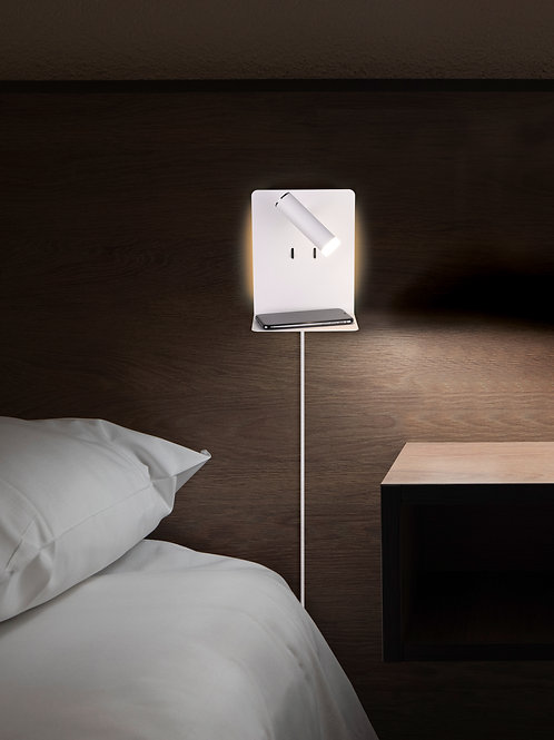 Vegglampe hvit - Element