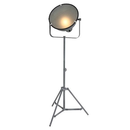 Industriell gulvlampe grå - Lucas
