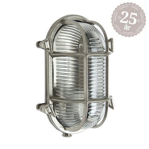 Vegglampe nikkel - Nautic 3