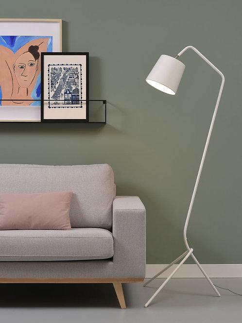 Design gulvlampe hvit - Barcelona