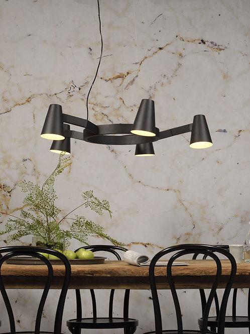 Design hengelampe svart - Biarritz