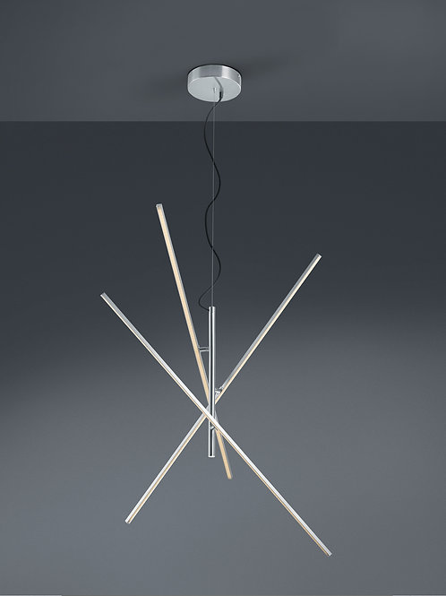 Design hengelampe hvit LED - Tiriac