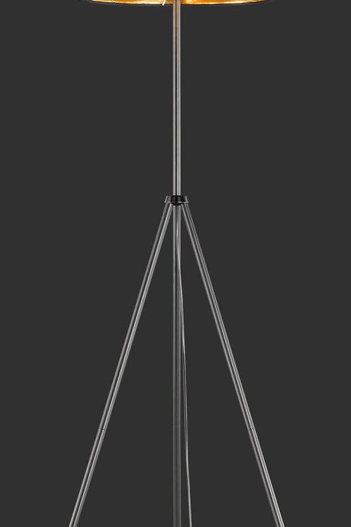 Design gulvlampe svart - Daniel