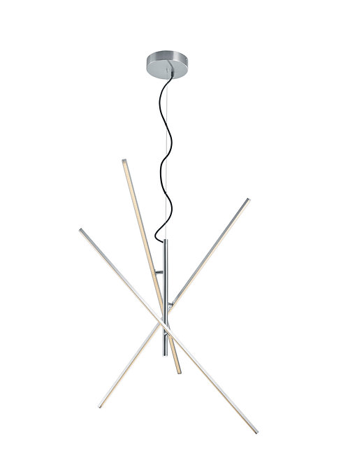 Design hengelampe stål LED - Tiriac