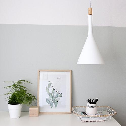 Design hengelampe hvit - Cornucopia