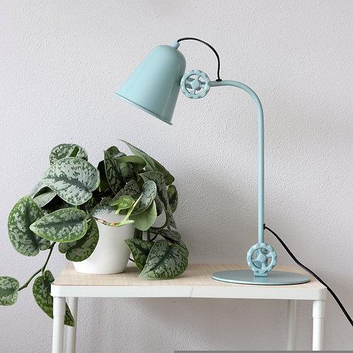 Industriell bordlampe grønn - Dolphin