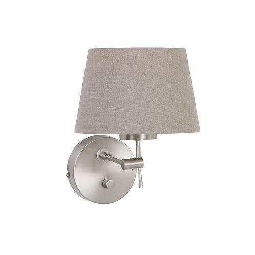 Vegglampe grå - Gramineus
