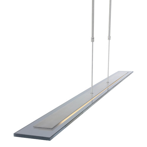 Design hengelampe stål LED - Plato Motion II