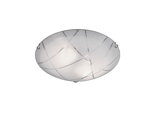 Taklampe hvit - Sandrina