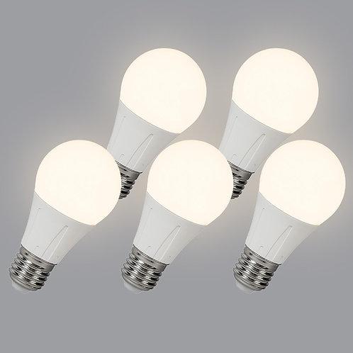 LED 10W E27 B60 WW 5 stk