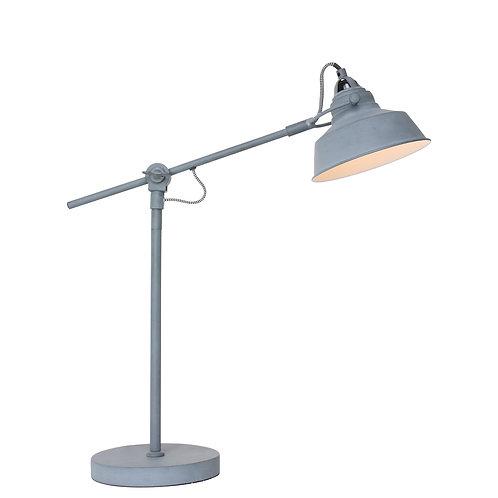 Industriell bordlampe grå - Mexlite