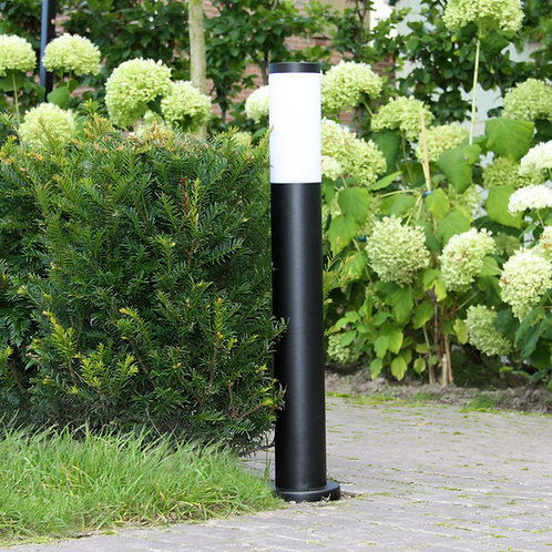 Design hagelampe svart - Lech 2