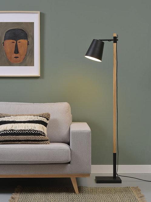 Design gulvlampe svart - Sydney