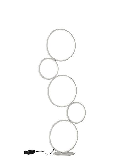 Design gulvlampe hvit - Rondo