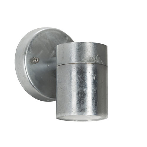 Vegglampe galvanisert - Gol down