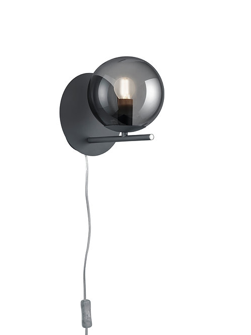 Vegglampe svart - Pure