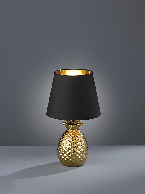Bordlampe svart - Pineapple