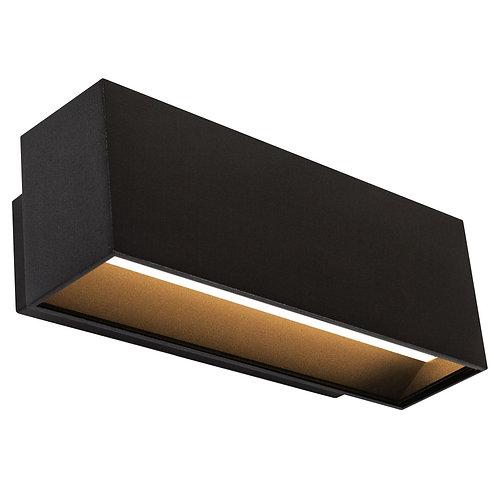 Design vegglampe svart - Segment