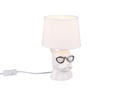Bordlampe hvit - Dosy