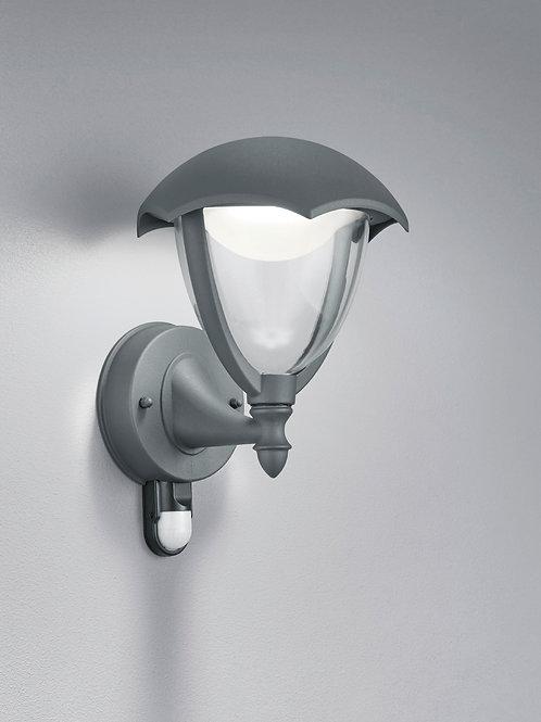 Vegglampe med sensor grå LED - Gracht