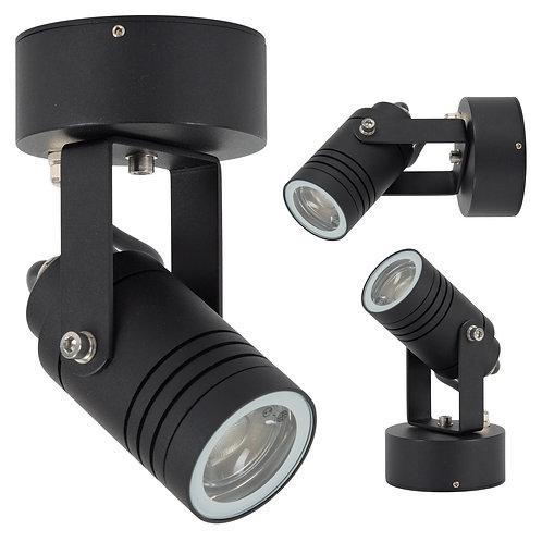 Vegglampe svart - Beamer