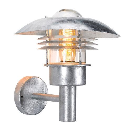 Vegglampe galvanisert - Riga