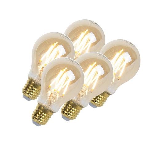 LED Goldline lyspære E27 5W 360LM A60 dimbar 5 stk