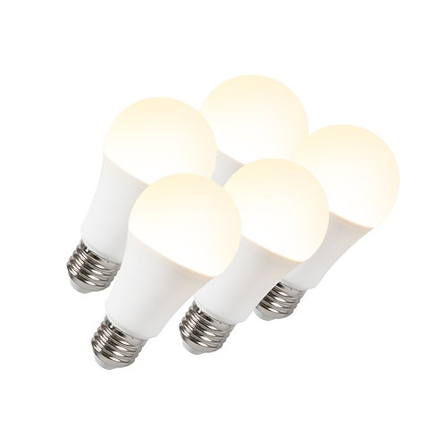 LED lyspære B60 12W E27 5 stk