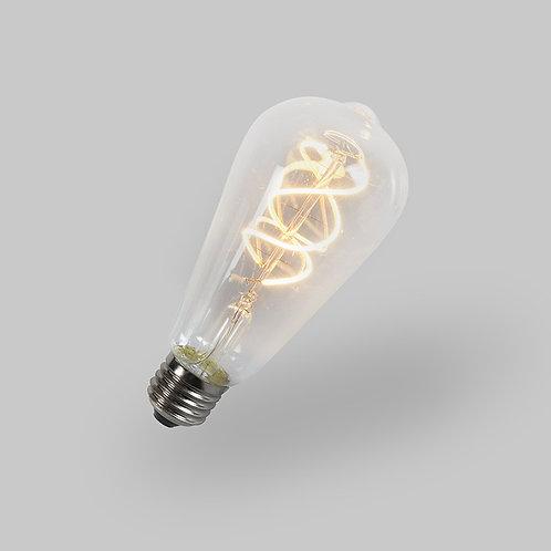 LED ST64 5W 2200K