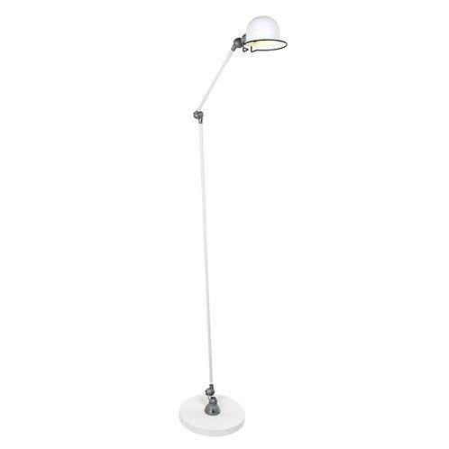 Industriell gulvlampe hvit - Mexlite Davin