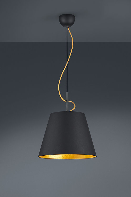 Design hengelampe svart - Andreus 1