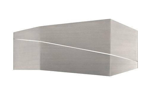 Design vegglampe nikkel - Zorro II