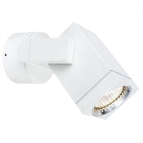 Vegglampe hvit - Cubic