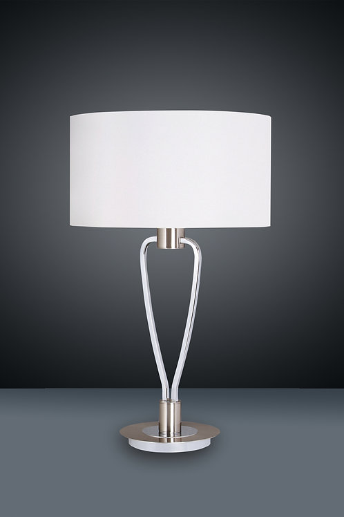 Design bordlampe hvit - Paris II