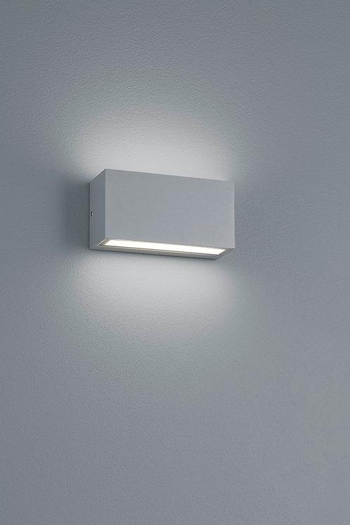 Vegglampe grå LED - Trent