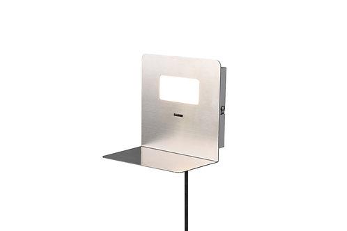 Vegglampe nikkel - Aloft