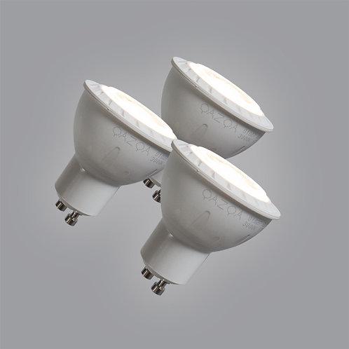 GU10 LED 7W 580LM varm hvit 3 stk