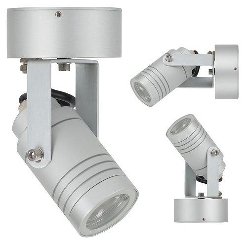 Vegglampe aluminium - Beamer