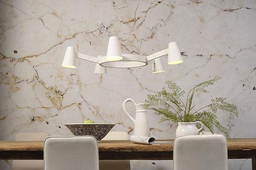 Design hengelampe hvit - Biarritz