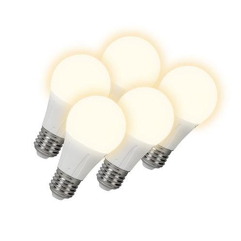 LED lyspære E27 6W 460LM 5 stk