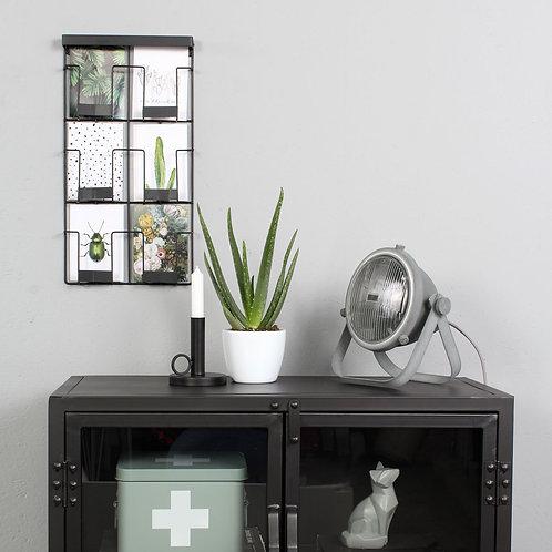 Industriell bordlampe grå - Nova