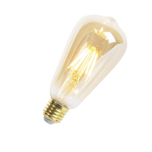 LED Goldline lyspære E27 5W 360LM ST64 dimbar