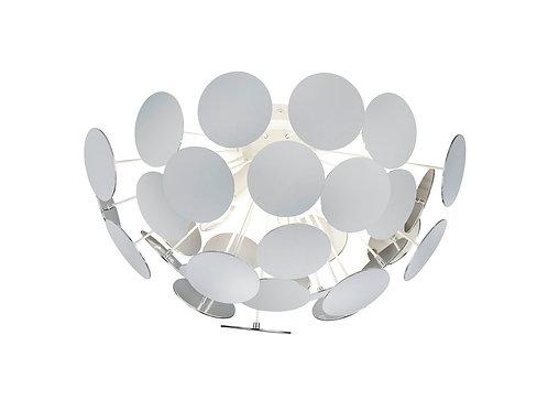 Design taklampe hvit - Discalgo