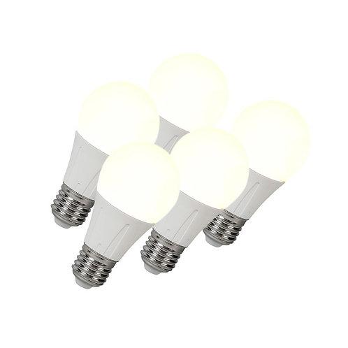 LED lyspære E27 8W 638LM 5 stk