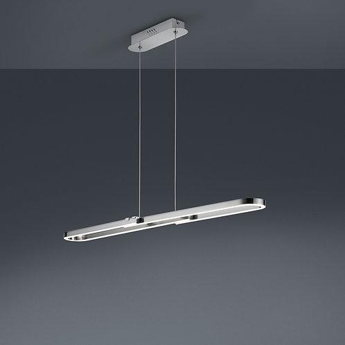 Design hengelampe grå 70-100 cm LED - Romulus