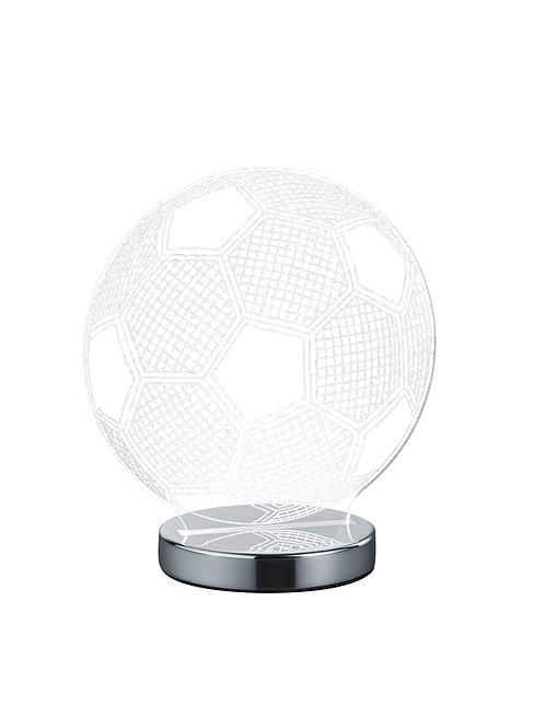 Bordlampe krom - Ball