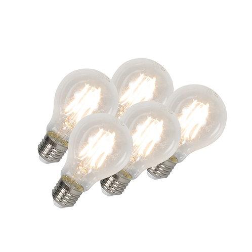 LED lyspære E27 4W 400LM 5 stk