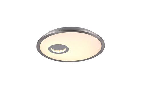 Design taklampe nikkel - Portland